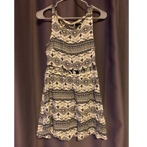Tribal print dress from H&M size 10 with cut outs